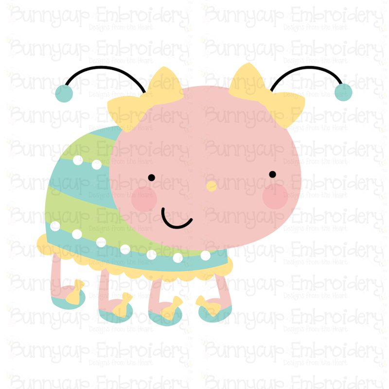 Cuddle Bug - SVG, Cut Files, Clipart, Printables example image 10