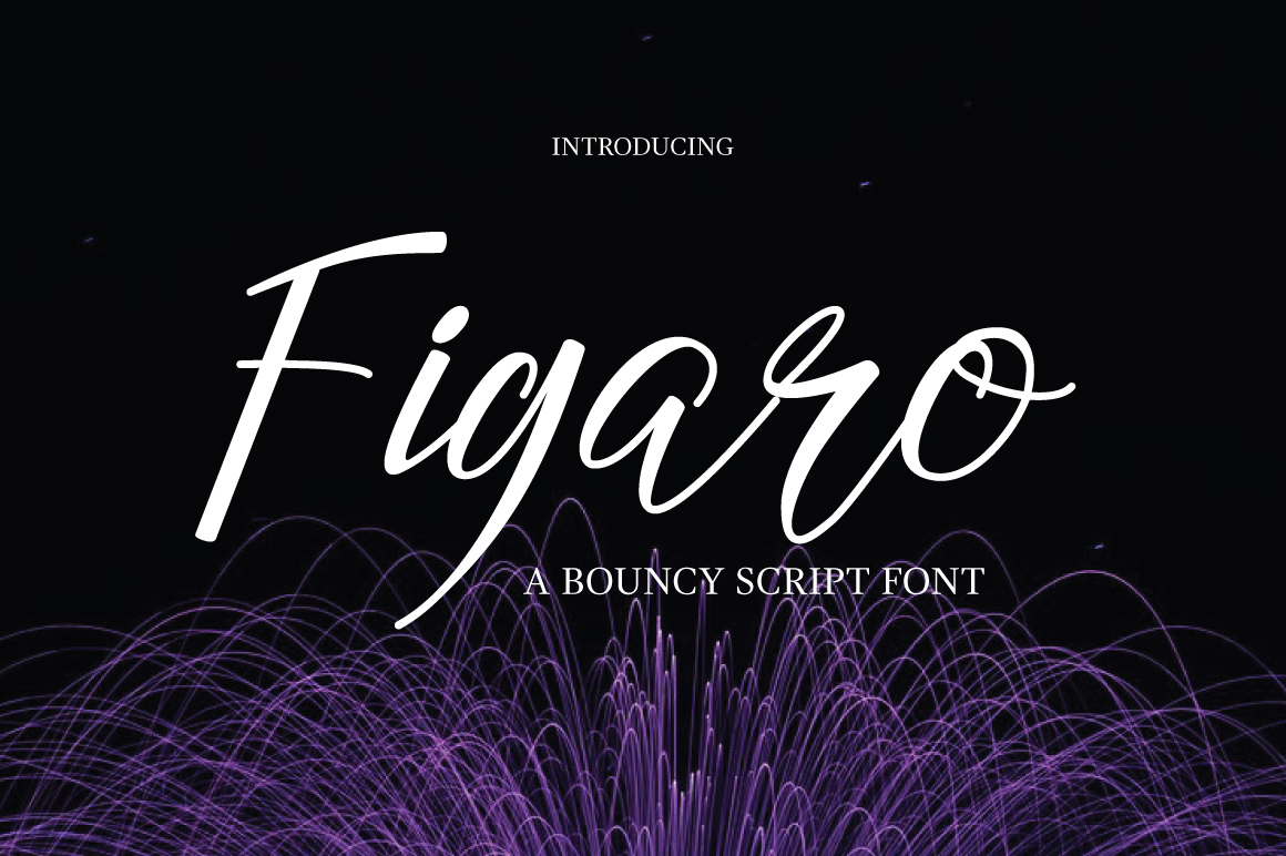 Figaro Font example image 1