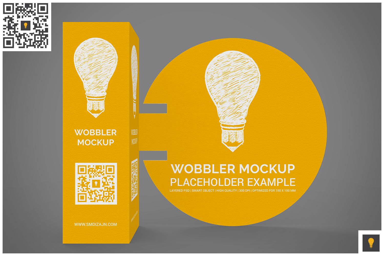 3D Wobbler Mockup example image 2