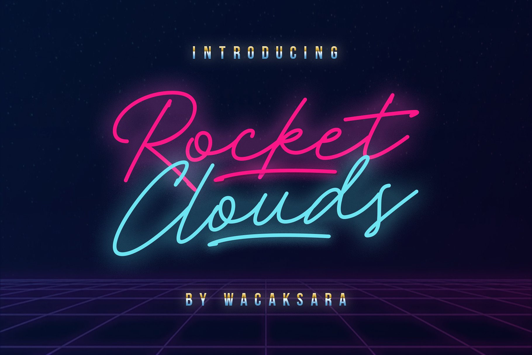 Rocket Clouds example image 1