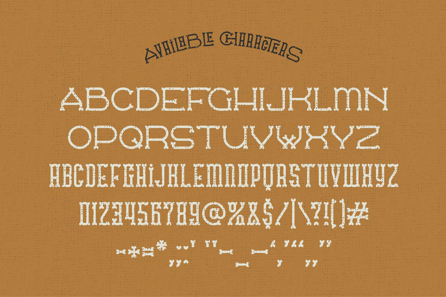 Traveler v.2 typeface example image 4
