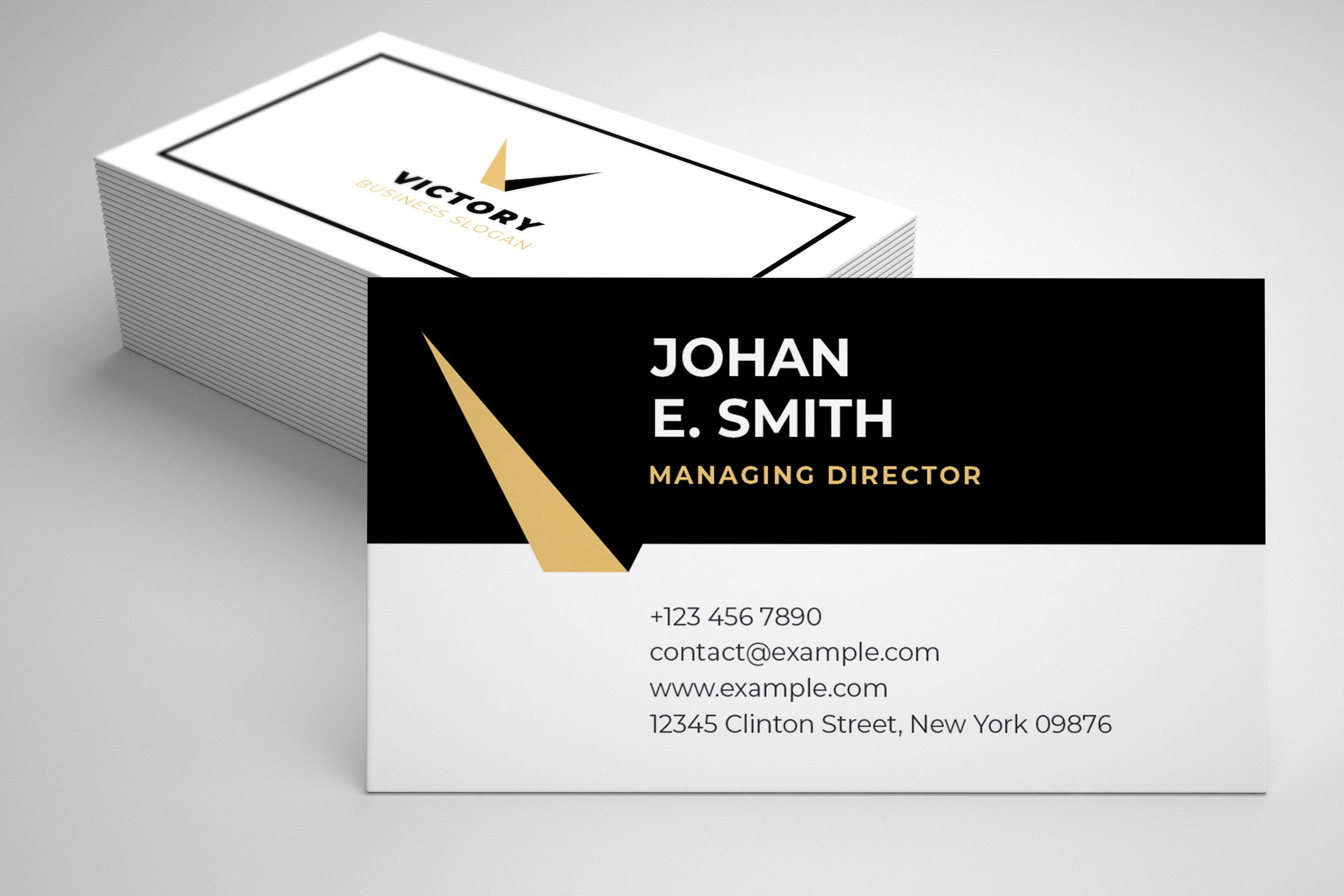Modern Business Card Template example image 4