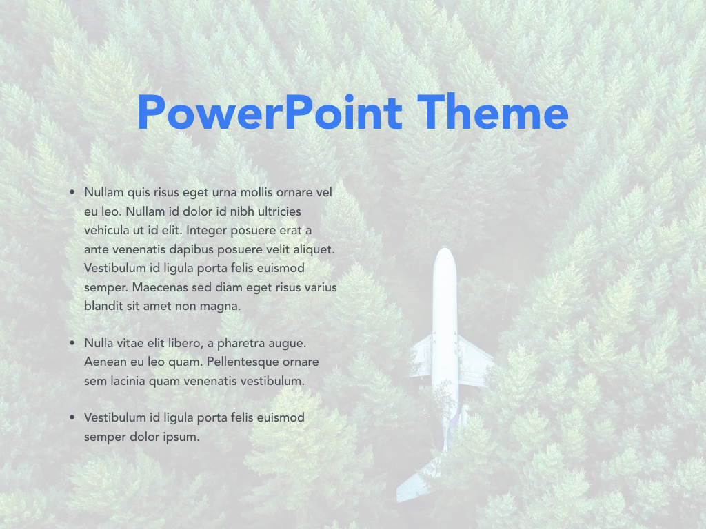 Avid Traveler PowerPoint Template example image 29