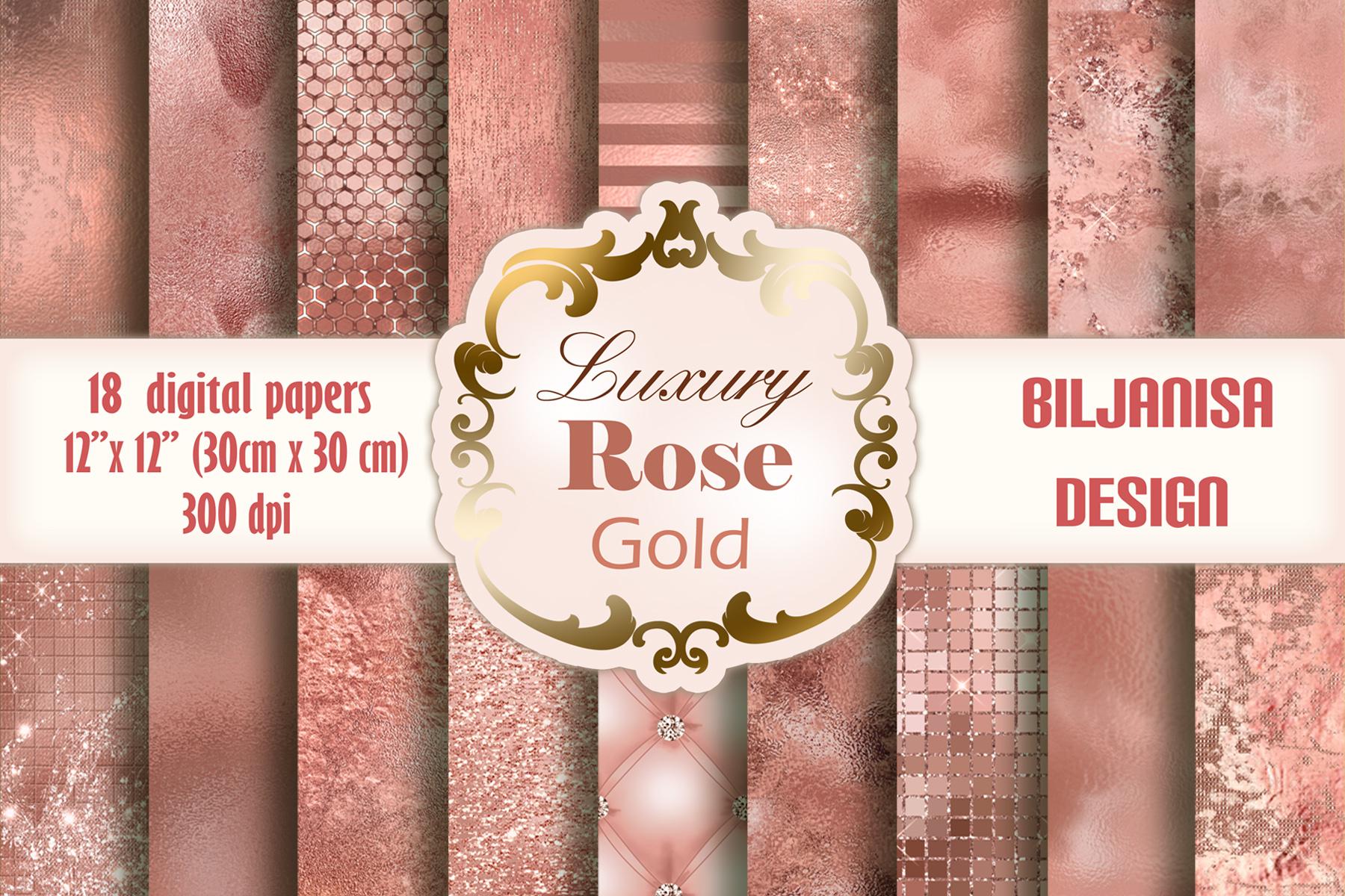 Luxury Rose Gold example image 1