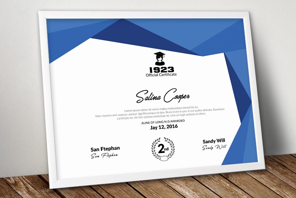 10 Certificates & Diploma Bundle example image 11