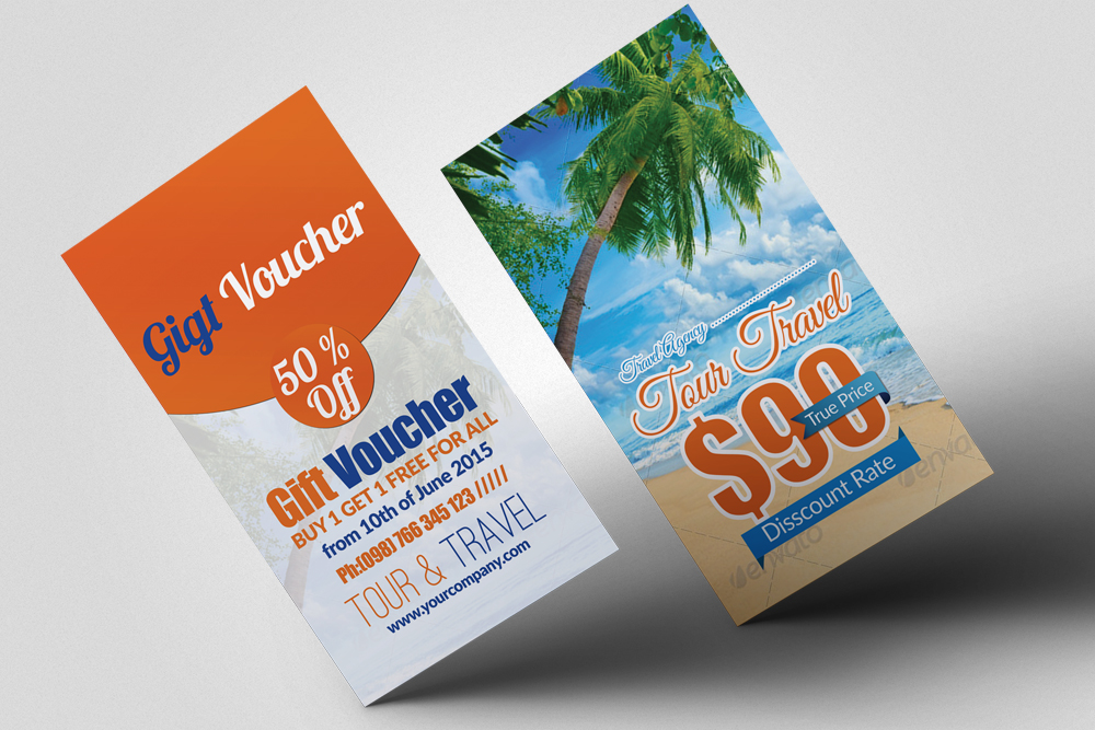 Tour Travel Gift Vouchers example image 1