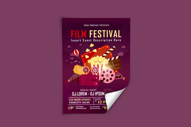 FILM FESTIVAL FLYER example image 3