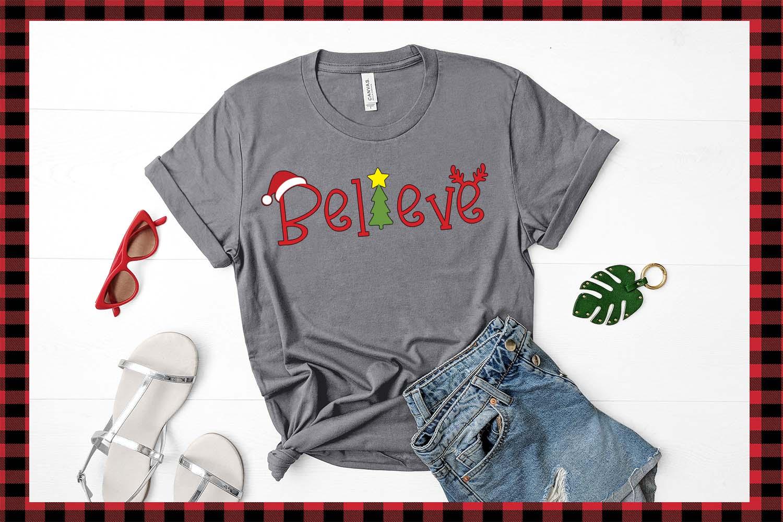 Lumberjack dingbat font, Combinable Christmas elements example image 6