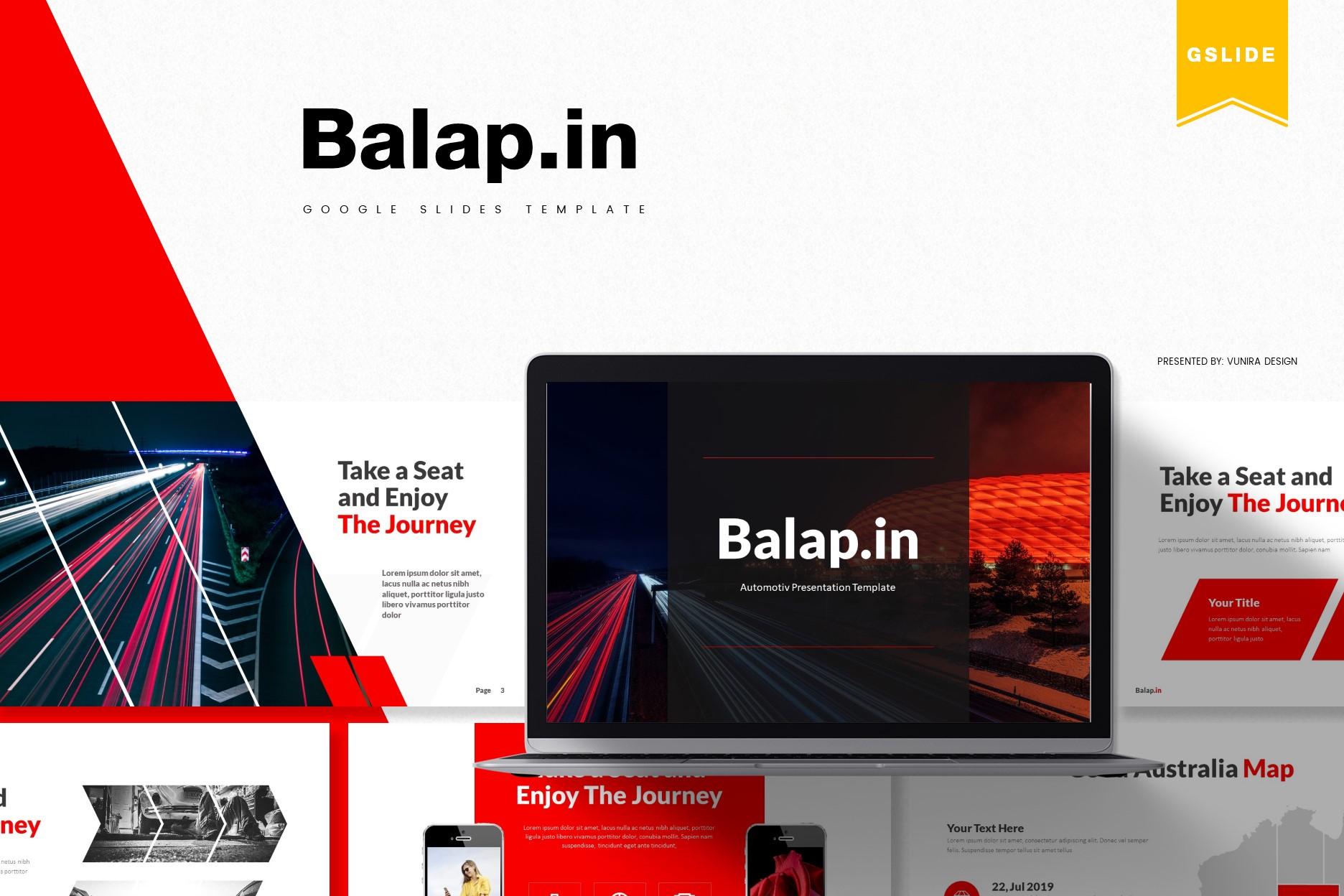 Balapin | Powerpoint, Keynote, GoogleSlides Template example image 3