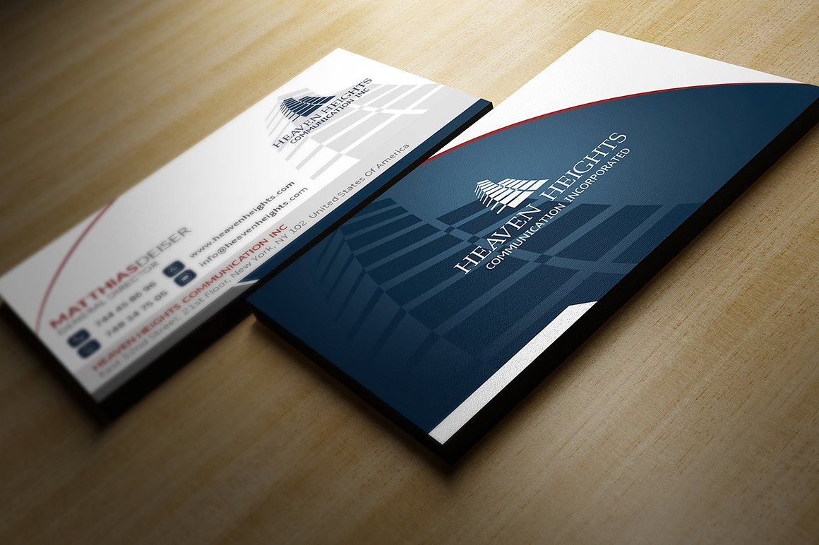 Corporate Business Card example image 3