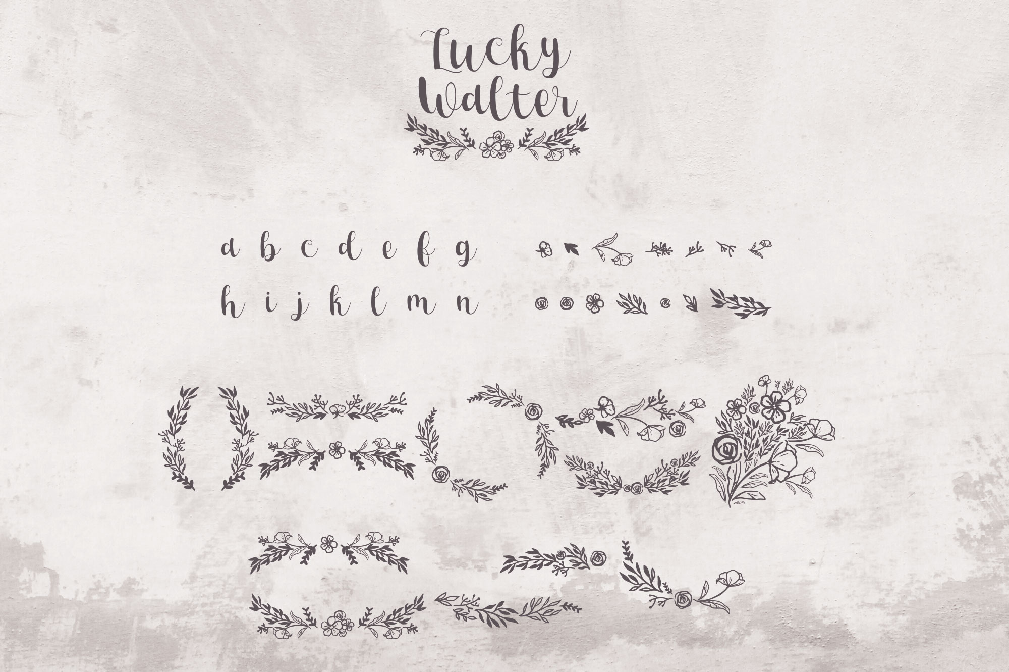 Lucky Walter - Elegant Style Font! example image 6