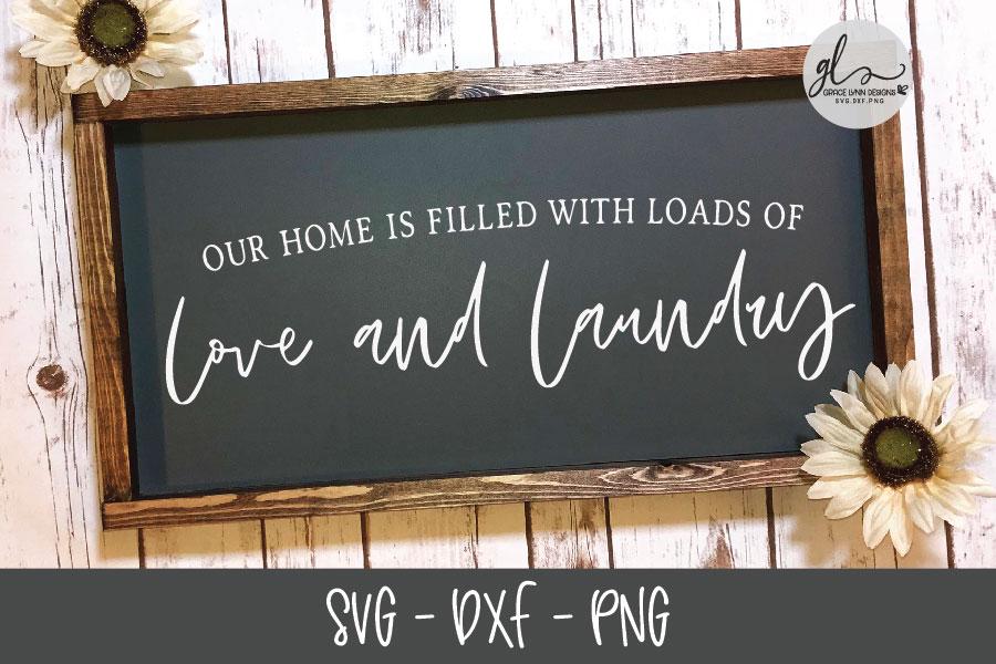 Laundry Sign Bundle - 20 Designs - SVG Cut Files example image 13
