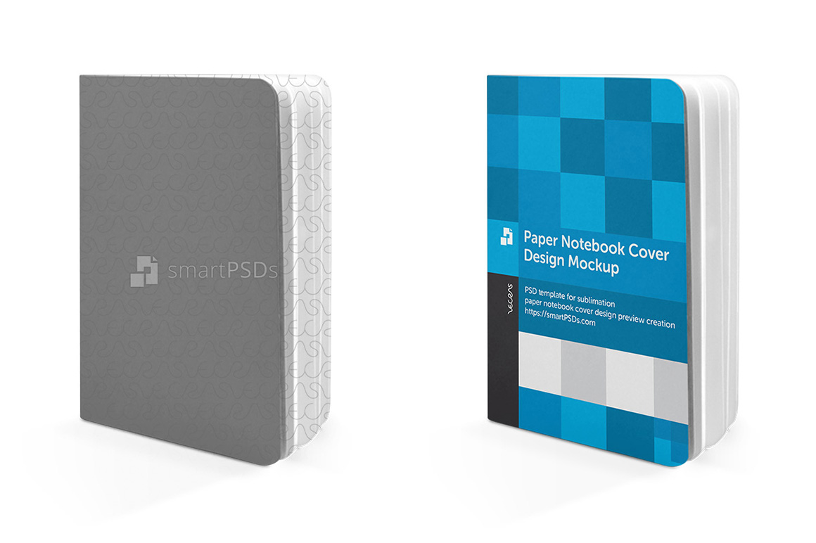 Paper Notebook Cover Design Mockup example image 3
