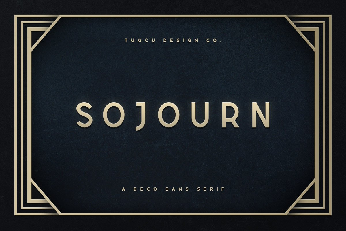 Sojourn Typeface example image 1