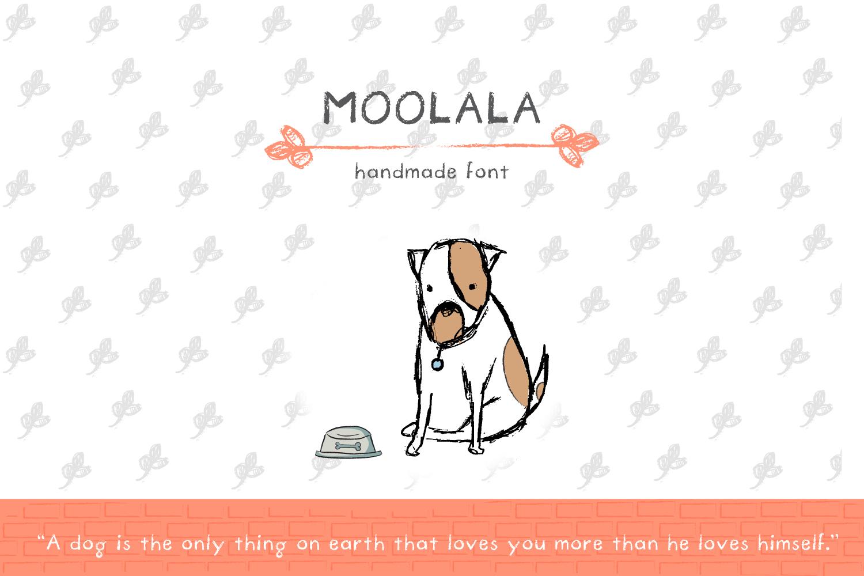 Moolala Font example image 1