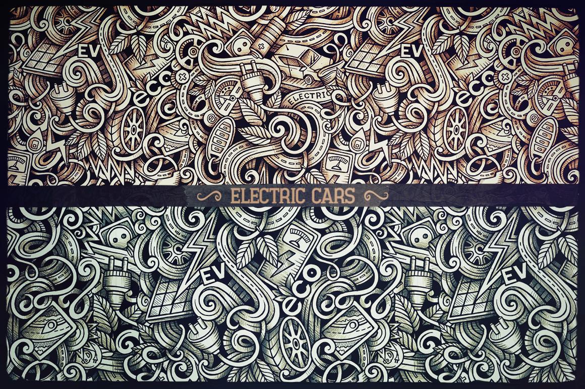 -50 SALE/ Big Doodle Patterns Bundle #2 example image 9