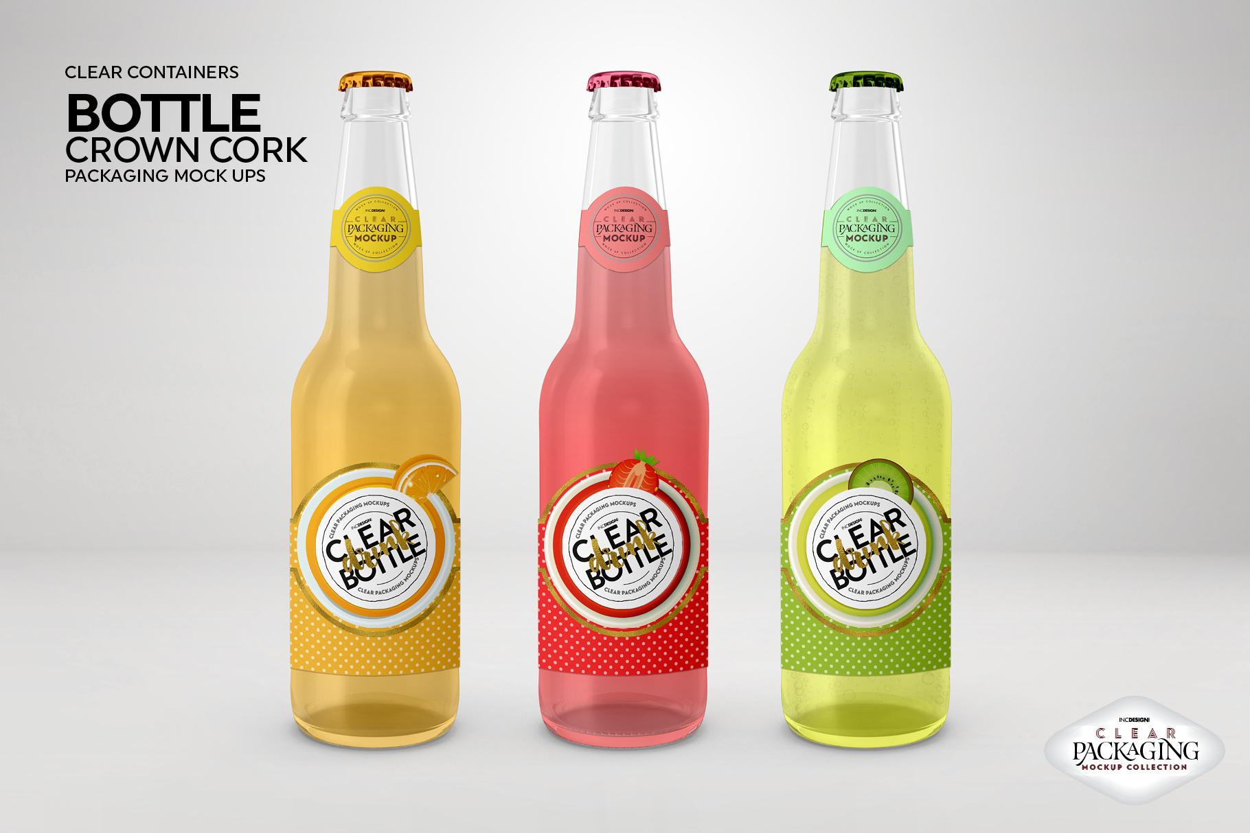 Crown Cork Bottle Mock Up example image 6