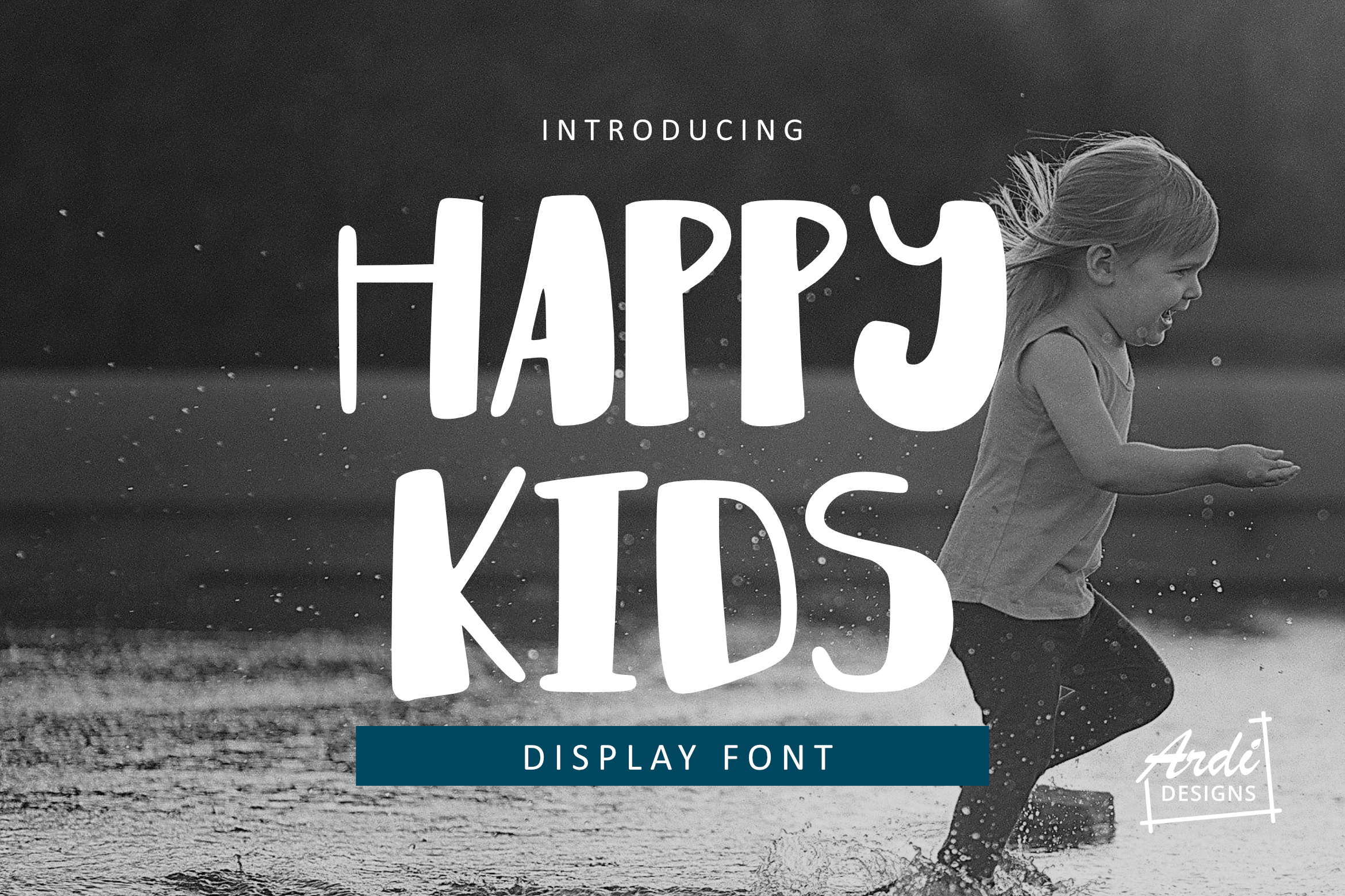 Happy Kids Font example image 1