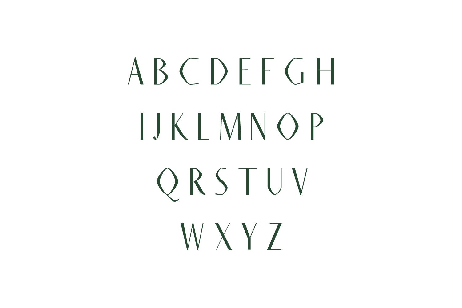 Ainsley Sans Serif Typeface example image 2