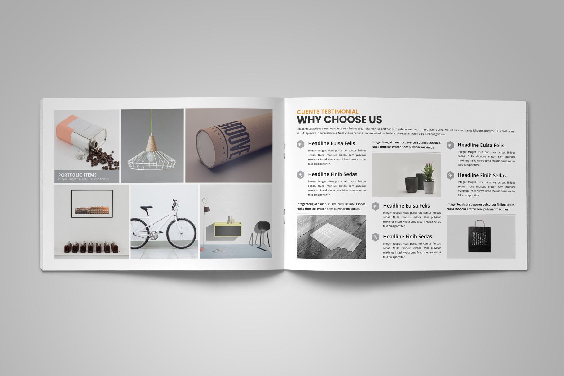 Digital Agency Portfolio Brochure v2 example image 8