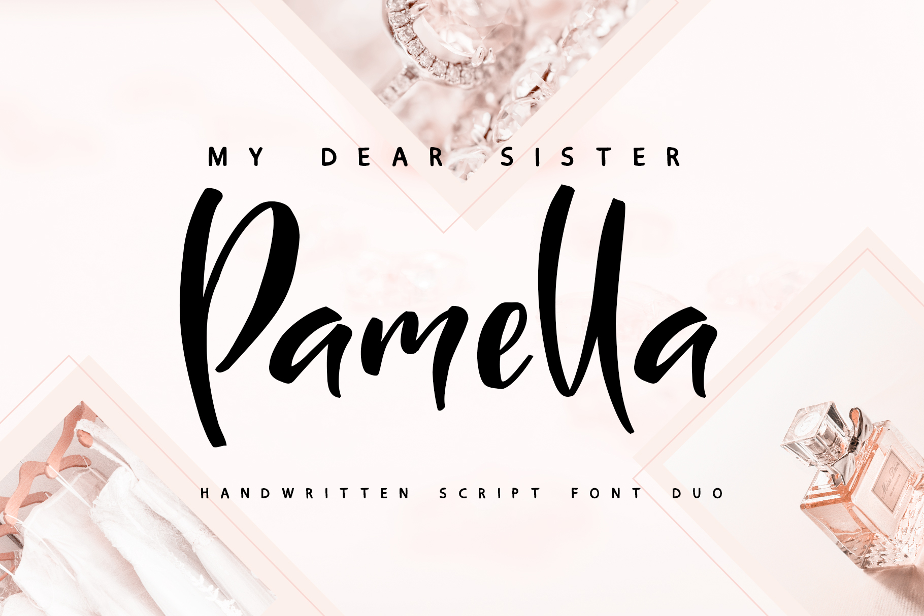 Sister Pamella Font Duo example image 1