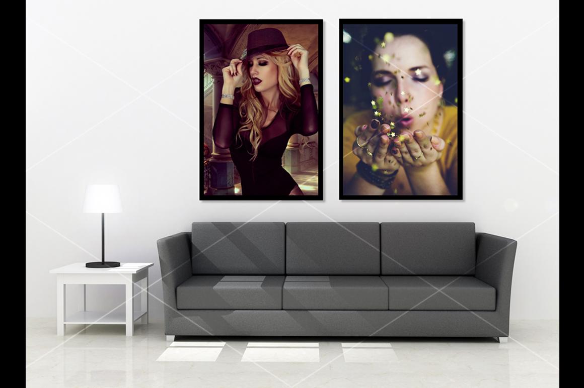 Wall art Mockup v5 example image 5
