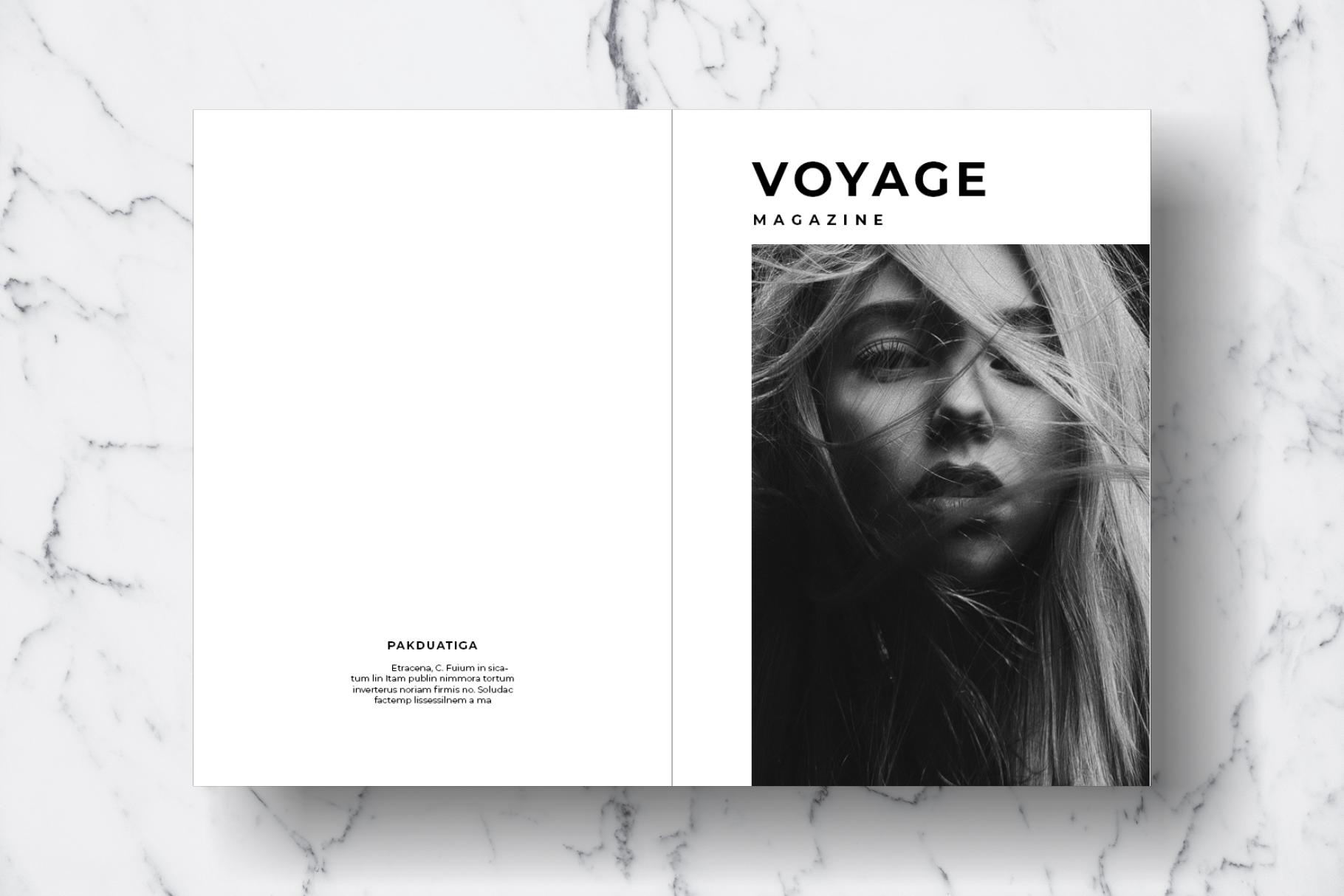 Magazine Template Vol. 12 example image 13