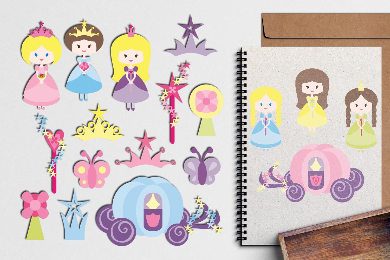Just For Girls Clip Art Illustrations Huge Bundle example image 25