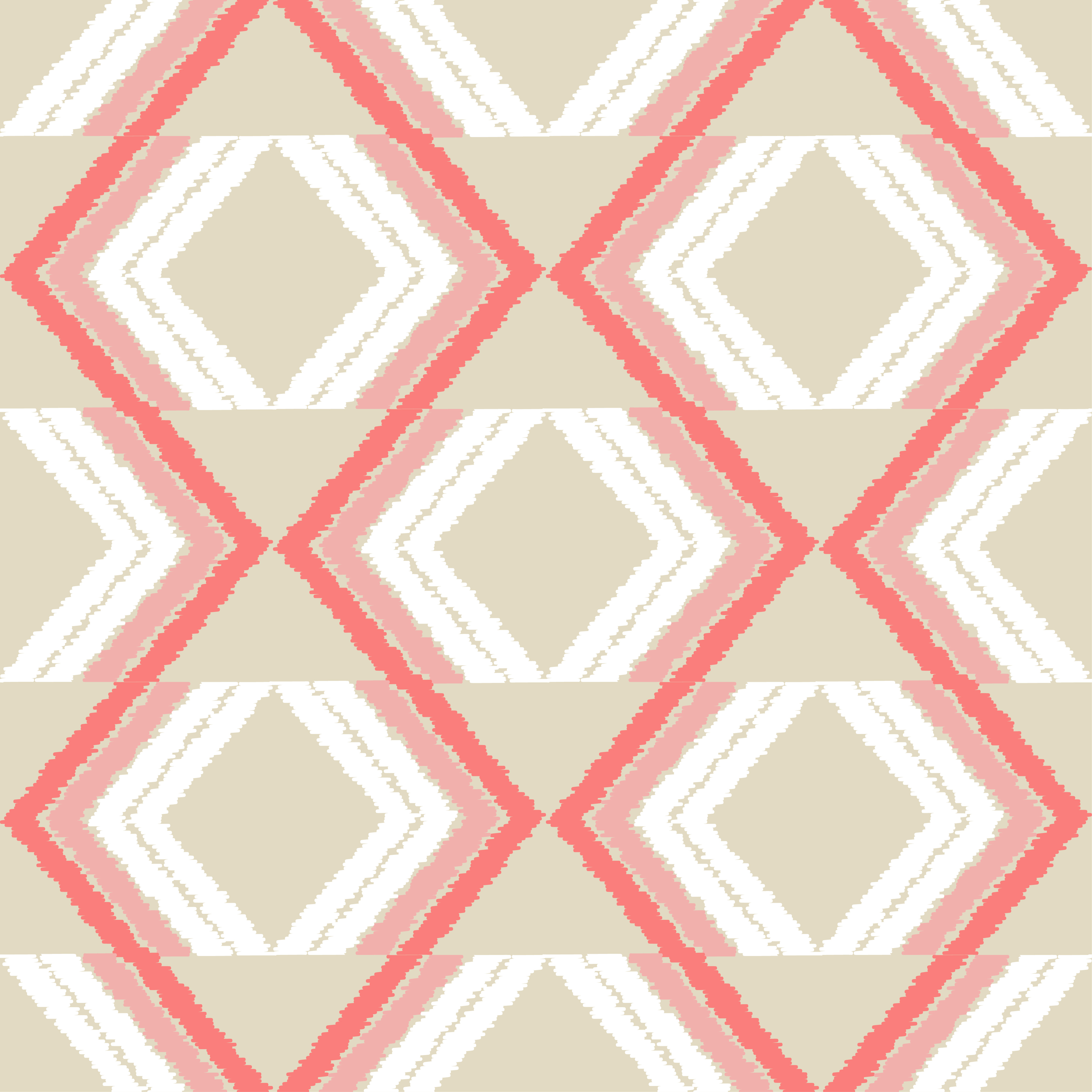 Ethnic boho seamless pattern. Scribble zigzag texture.  example image 2