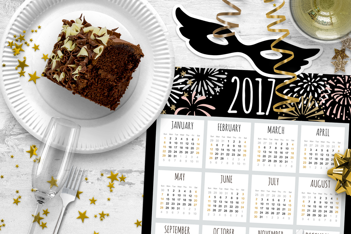 New Year's  party set example image 3
