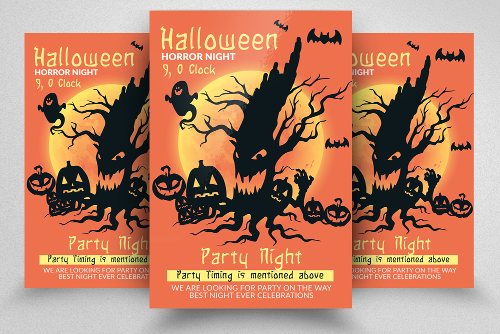 Halloween Horror Night Flyer example image 1