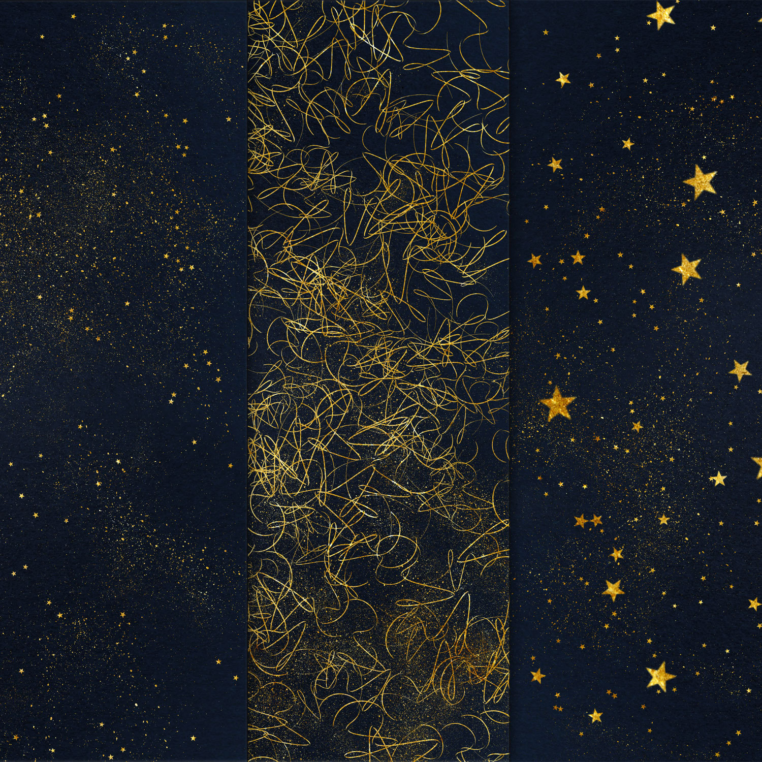 Starry Night Backgrounds example image 2