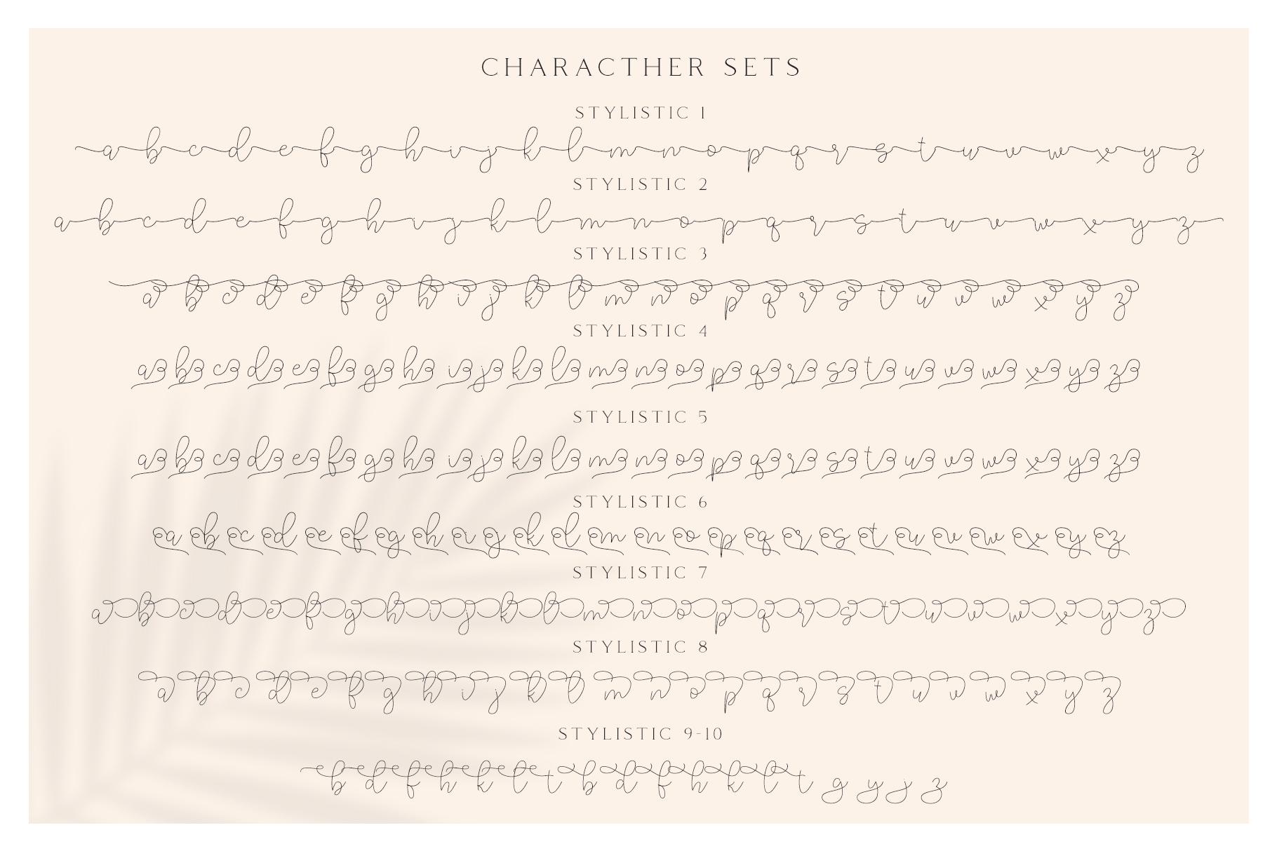Lucylane - Signature Typeface example image 9