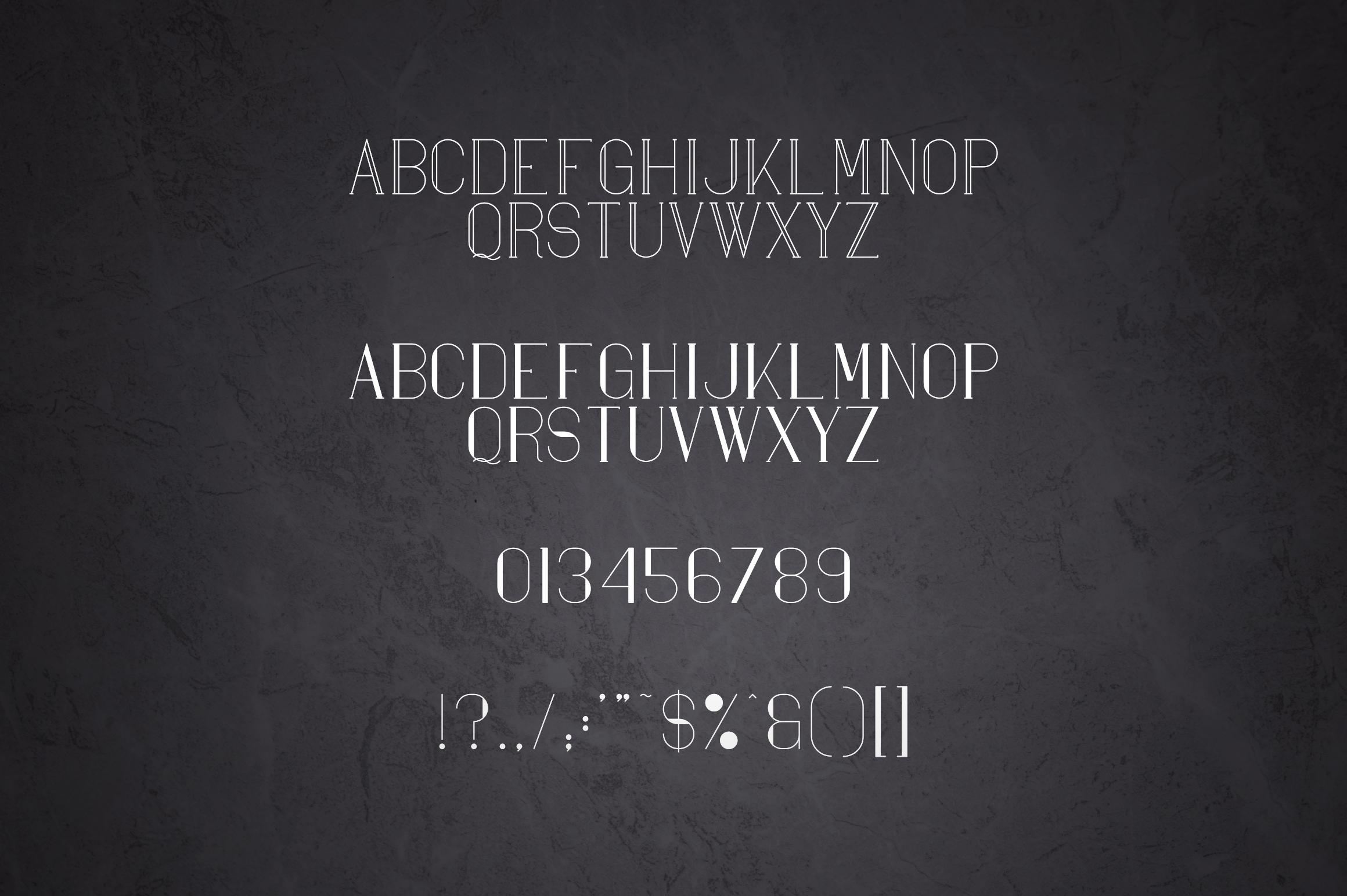 Maria Serif Font example image 6