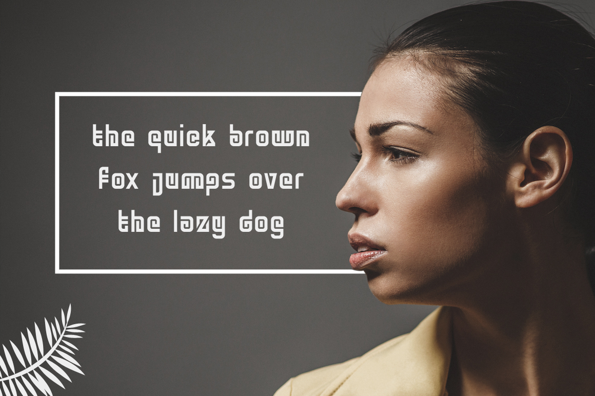 Ngamboel Typeface example image 4