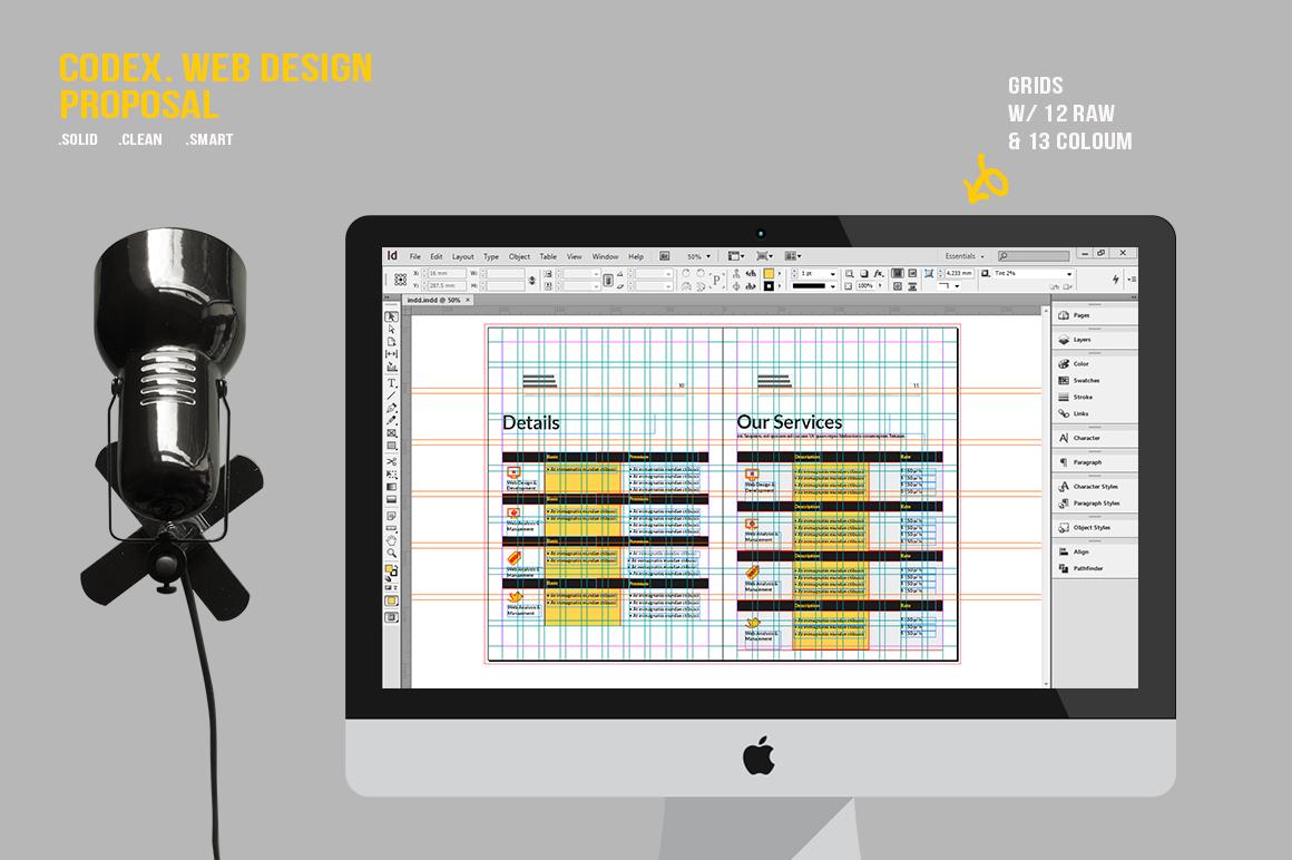 CODEX. Web Design Proposal example image 8