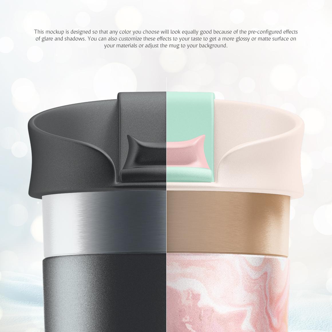 Travel Mug Mockup example image 4