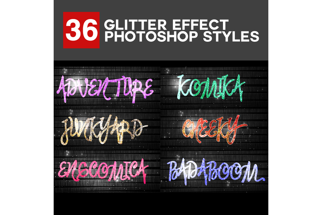 1600+ Mega Bundle Photoshop Styles example image 2