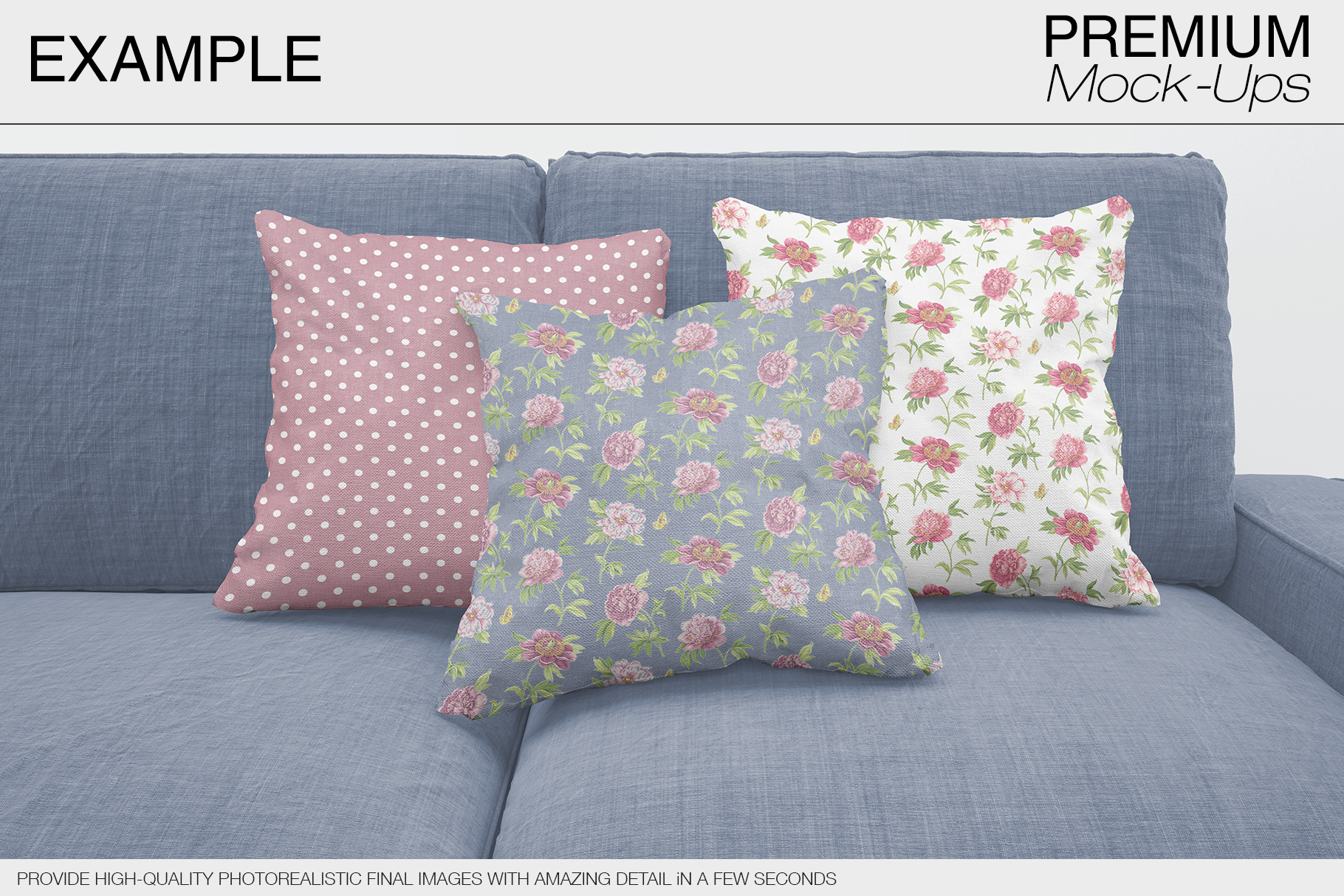 Pillow Mockups example image 7
