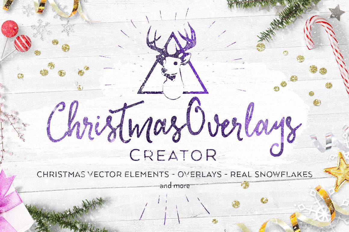 Christmas Overlays Creator example image 1