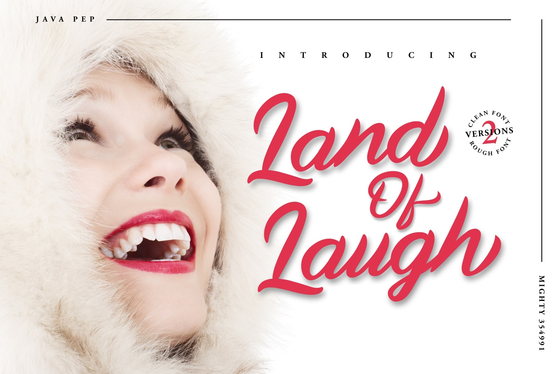 Land Of Laugh -Clean & Rough example image 1