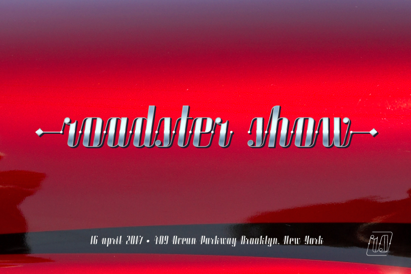 ROADSTER typeface example image 5