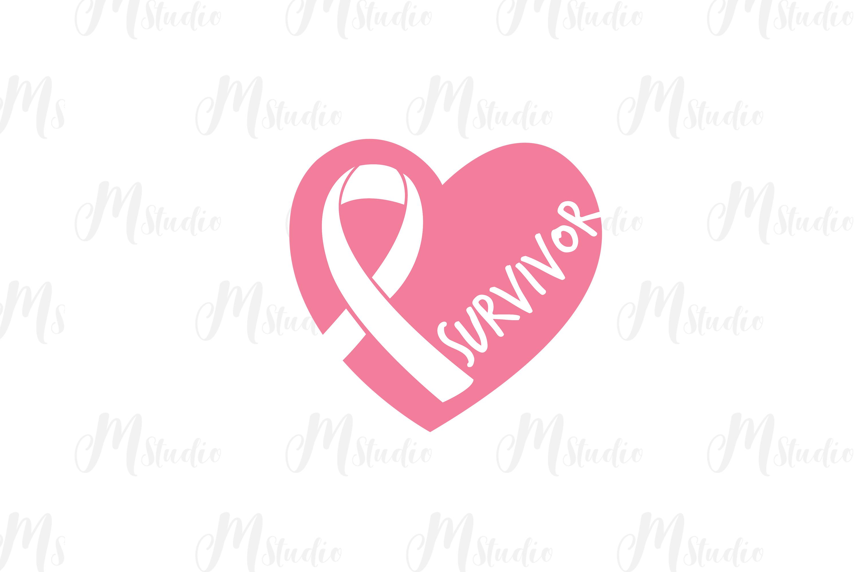 Cancer Awareness bundle SVG example image 3