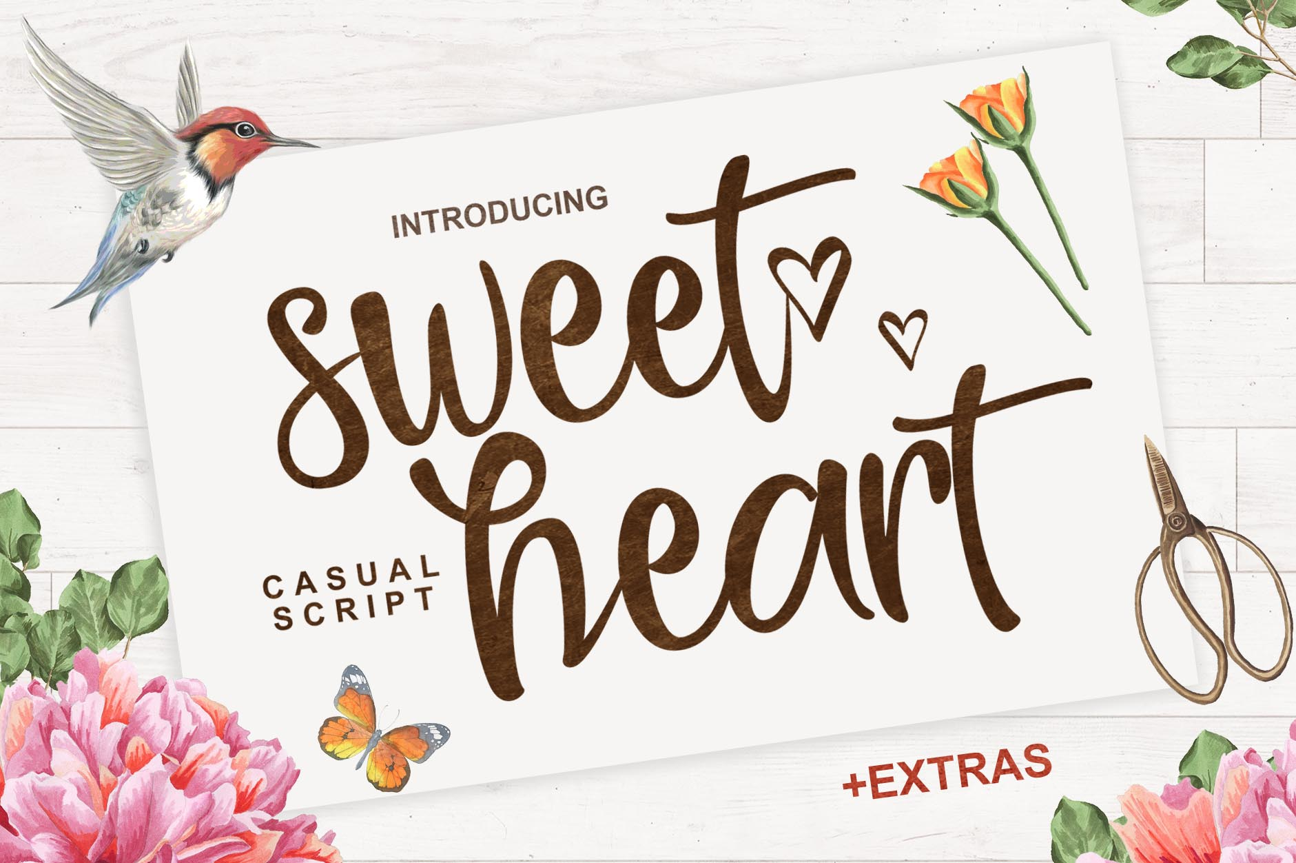 Sweet Heart  + Extras example image 1