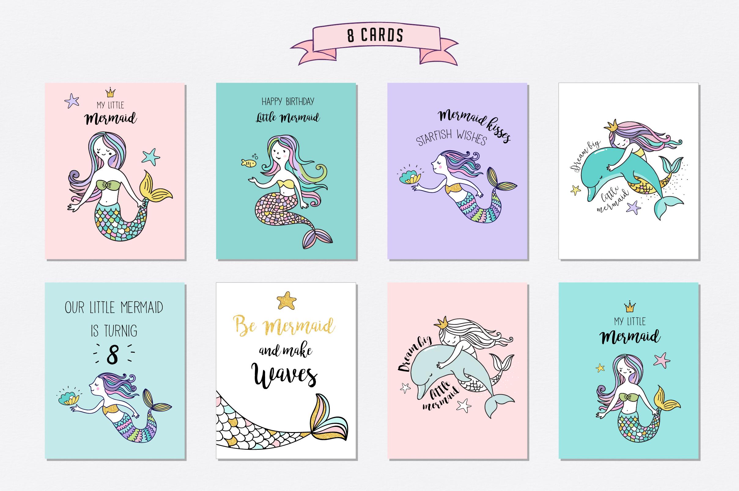 Little Mermaid - under the sea set example image 7