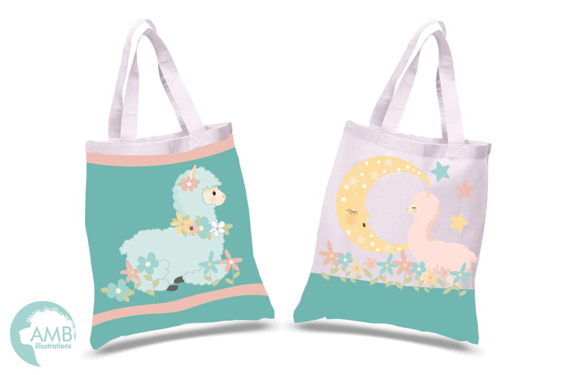 Baby Llama Nursery clipart, graphics, illustrations AMB-2266 example image 2