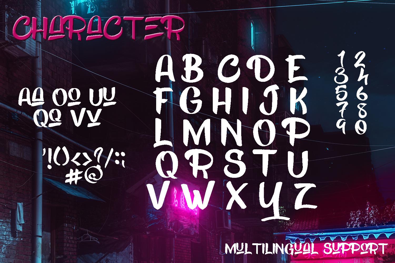 Kick Slipe Font example image 5