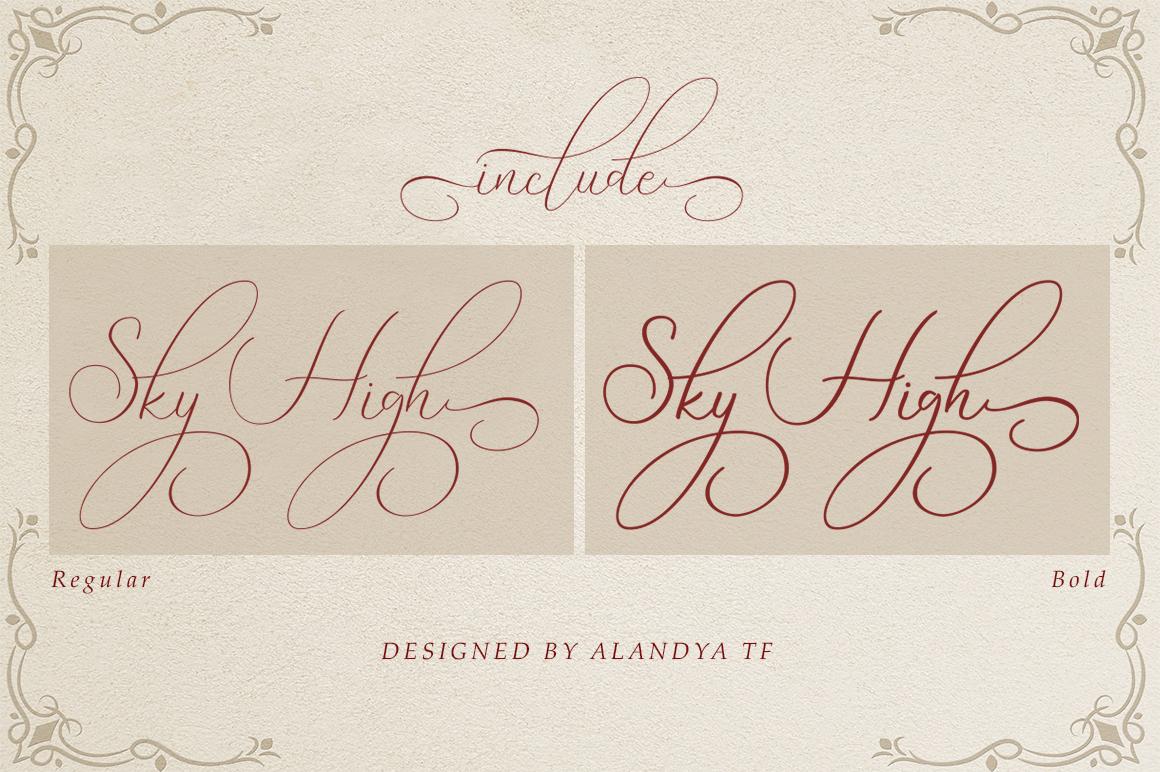 Sky High script example image 2