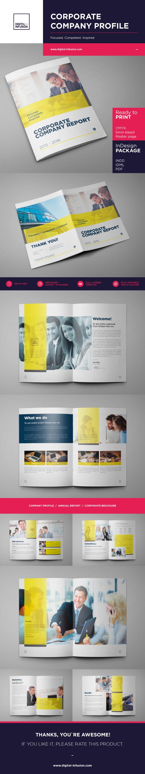 Corporate Company Profile example image 2