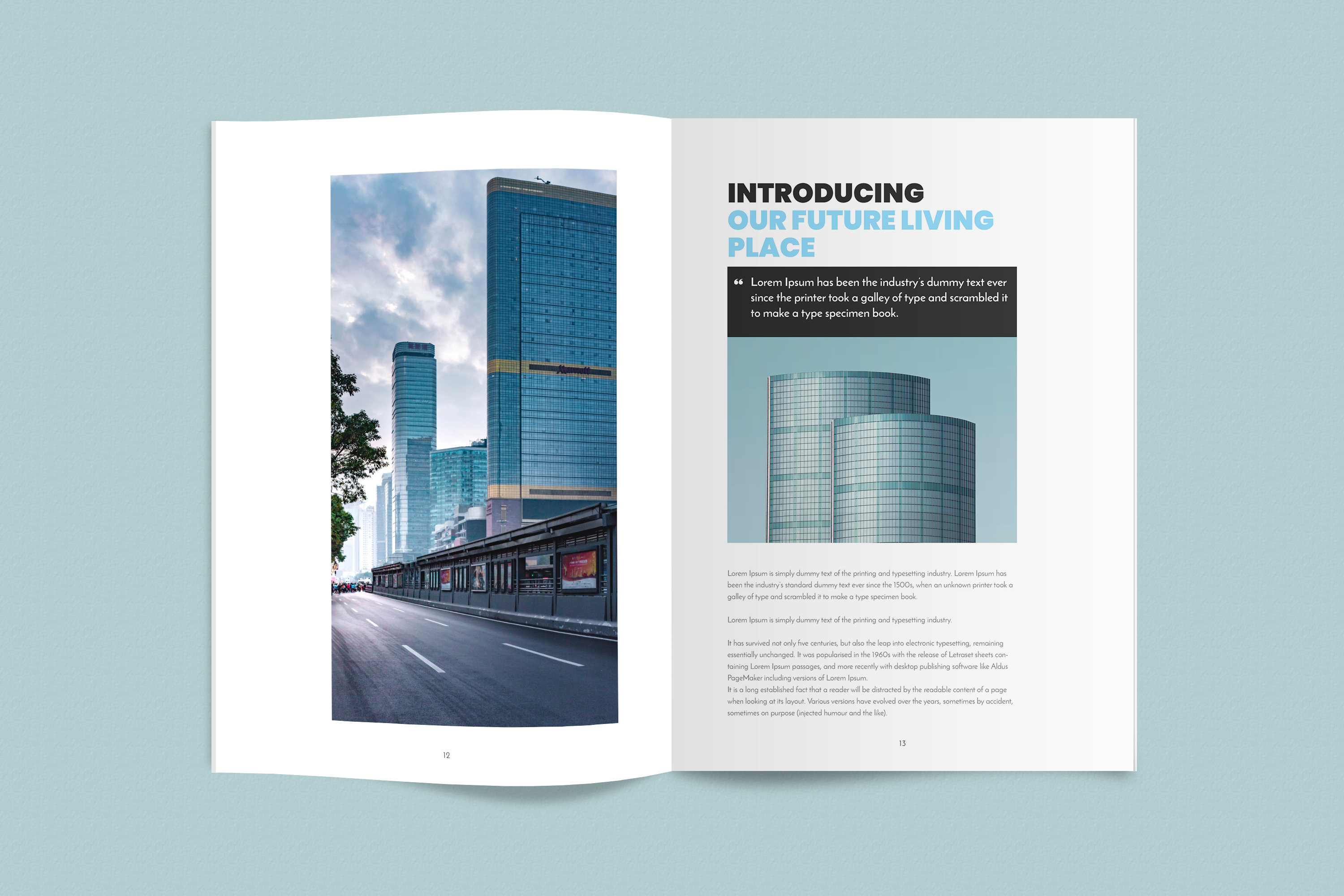 InDesign NANO Magazine Template example image 7